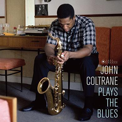 John Coltrane PLAYS THE BLUES (COVER PHOTO JEAN-PIERRE LELOIR) Vinyl Record