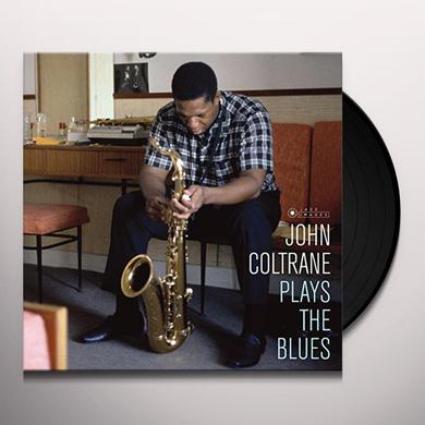 John Coltrane PLAYS THE BLUES (COVER PHOTO JEAN-PIERRE LELOIR) Vinyl Record