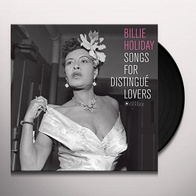 Billie Holiday SONGS FOR DISTINGUE LOVERS (COVER PHOTO BY JEAN) Vinyl Record