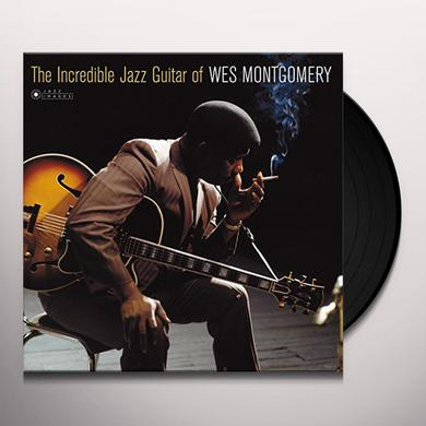 Wes Montgomery INCREDIBLE JAZZ GUITAR OF (COVER PHOTO BY JEAN) Vinyl Record