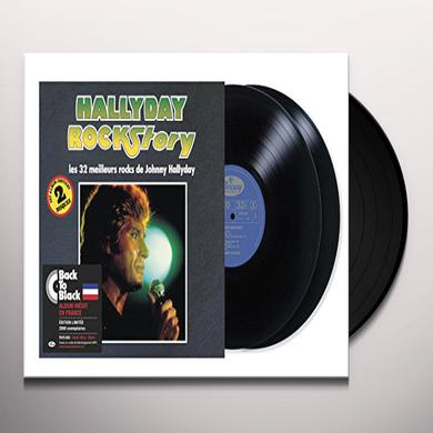Johnny Hallyday HALLYDAY ROCK STORY Vinyl Record