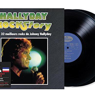 Johnny Hallyday HALLYDAY ROCK STORY Vinyl Record