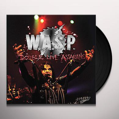 Wasp DOUBLE LIVE ASSASSINS Vinyl Record