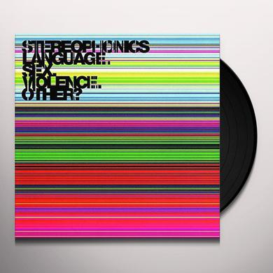 Stereophonics LANGUAGE. SEX. VIOLENCE. OTHER Vinyl Record