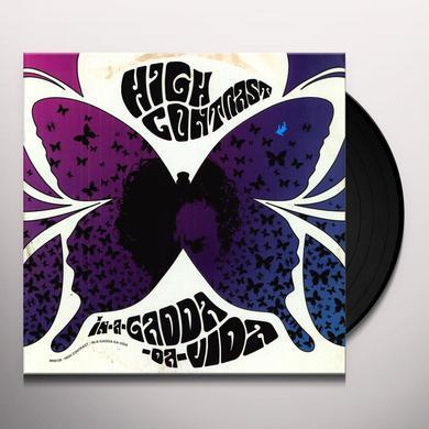 High Contrast IN-A-GADDA-DA-VIDA Vinyl Record