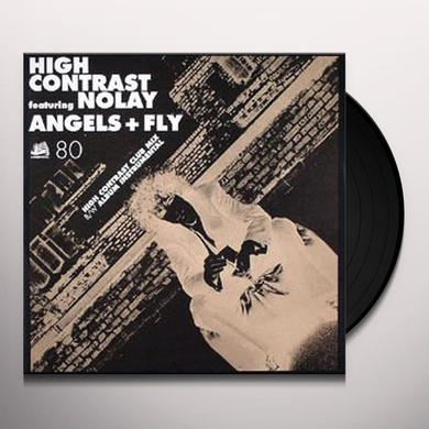 High Contrast ANGELS + FLY Vinyl Record