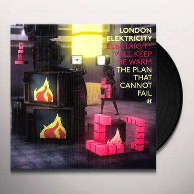 London Elektricity ELEKTRICITY WILL KEEP ME WARM Vinyl Record