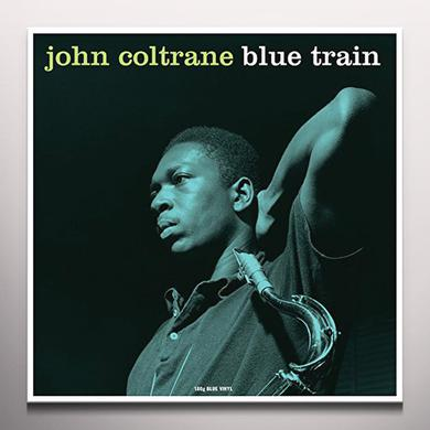 John Coltrane BLUE TRAIN (BLUE VINYL) Vinyl Record
