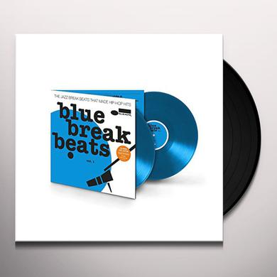 BLUE BREAK BEATS 1 / VARIOUS Vinyl Record
