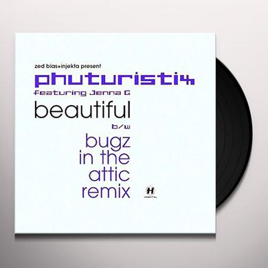 Phuturistix BEAUTIFUL (DRUM & BASS REMIXES) Vinyl Record