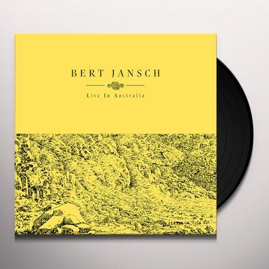 Bert Jansch LIVE IN AUSTRALIA Vinyl Record