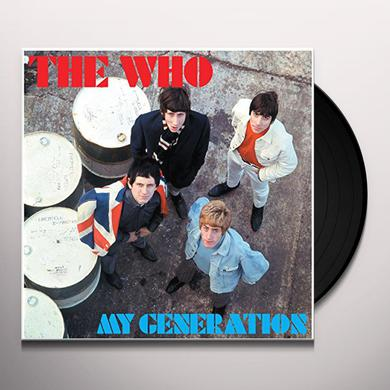 The Who MY GENERATION Vinyl Record - Deluxe Edition