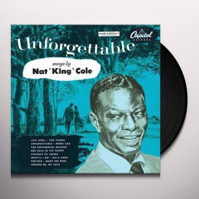 Nat King Cole UNFORGETTABLE Vinyl Record