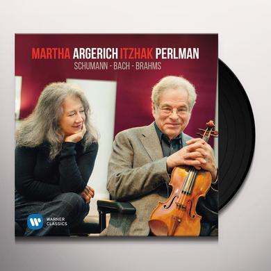Argerich / Pelman BACH & SCHUMANN Vinyl Record