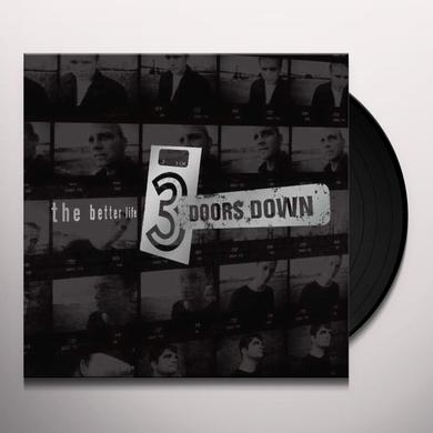 3 Doors Down BETTER LIFE Vinyl Record