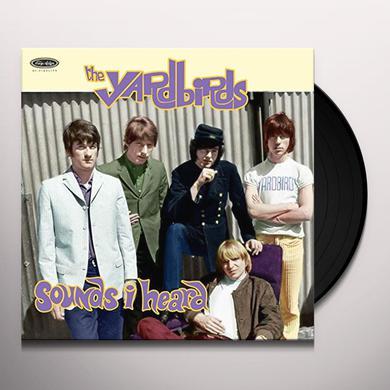 Yardbirds SOUNDS I HEARD Vinyl Record
