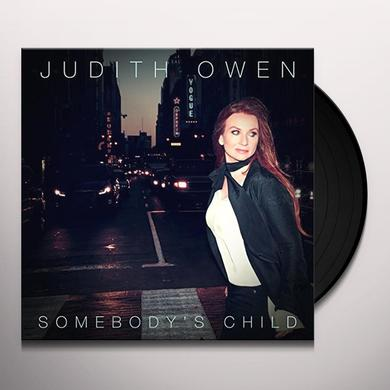 Judith Owen SOMEBODY'S CHILD Vinyl Record