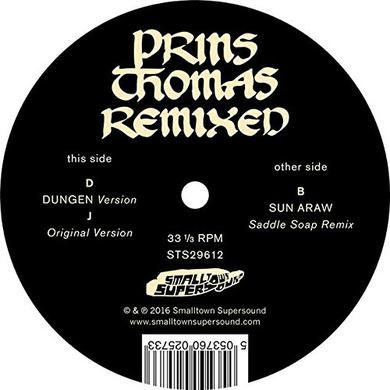 Prins Thomas DUNGEN / SUN ARAW REMIXES Vinyl Record