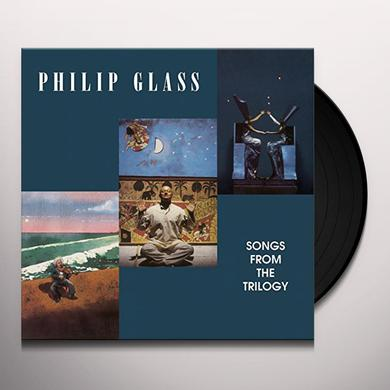 Philip Glass SONGS FROM THE TRILOGY Vinyl Record