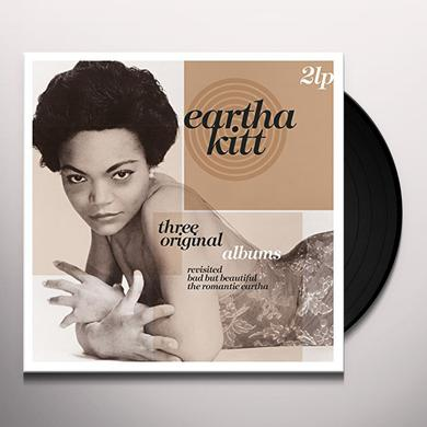 Eartha Kitt THREE ORIGINAL ALBUMS Vinyl Record