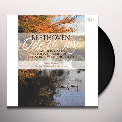 Ludwig Van Beethoven SYMPHONY 9 / EGMONT OVERTURE / LEONORE OVERTURE 3 Vinyl Record