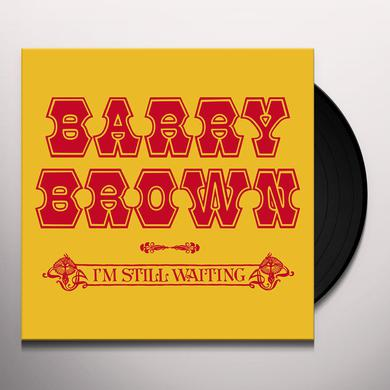 Barry Brown I'M STILL WAITING Vinyl Record