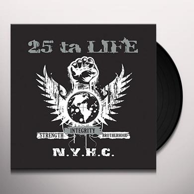 25 Ta Life STRENGTH INTEGRITY BROTHERHOOD Vinyl Record