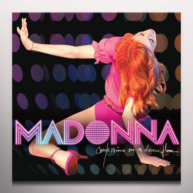 Madonna CONFESSIONS ON A DANCE FLOOR Vinyl Record - Colored Vinyl, Pink Vinyl