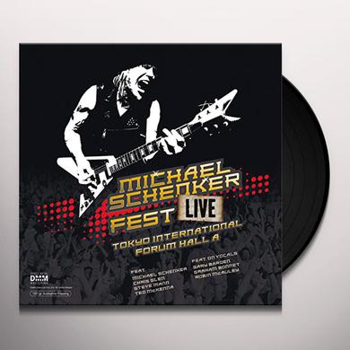 Michael Schenker FEST: LIVE TOKYO INTERNATIONAL FORUM HALL A Vinyl Record