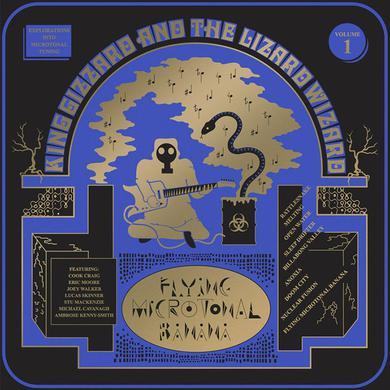 King Gizzard & The Lizard Wizard FLYING MICROTONAL BANANA Vinyl Record