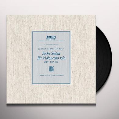 Bach / Pierre Fournier 6 CELLO SUITES BWV1007-1012 Vinyl Record