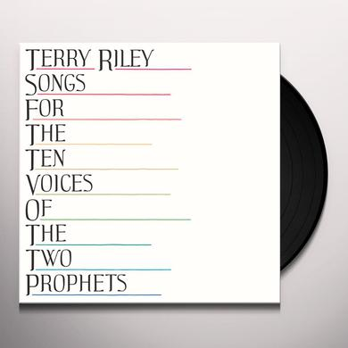 Terry Riley SONGS FOR THE TEN VOICES OF THE TWO PROPHETS Vinyl Record