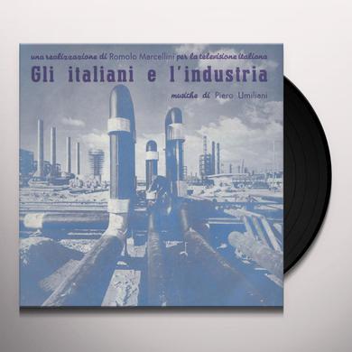 Piero Umiliani GLI ITALIANI E L'INDUSTRIA / O.S.T. Vinyl Record