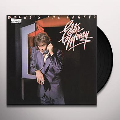 Eddie Money WHERE'S THE PARTY Vinyl Record