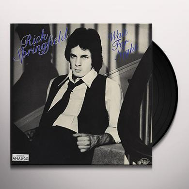 Rick Springfield WAIT FOR NIGHT Vinyl Record