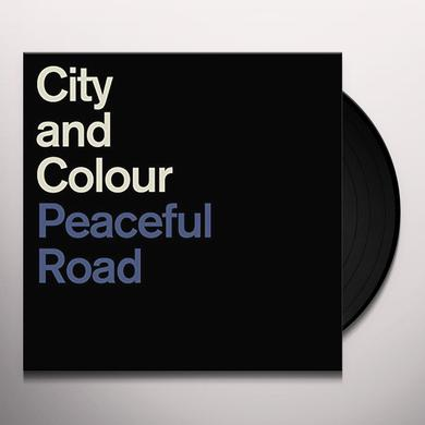 City & Colour PEACEFUL ROAD / RAIN Vinyl Record