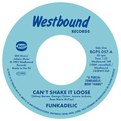 Funkadelic CAN'T SHAKE IT LOOSE / I'LL BET YOU Vinyl Record