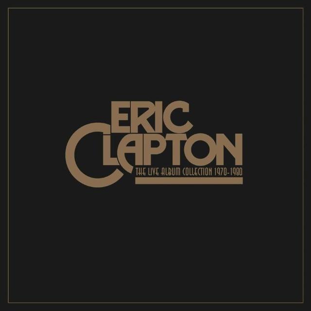 Derek & The Dominos / Eric Clapton LIVE ALBUM COLLECTION Vinyl Record - UK Import