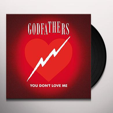 Godfathers YOU DON'T LOVE ME Vinyl Record