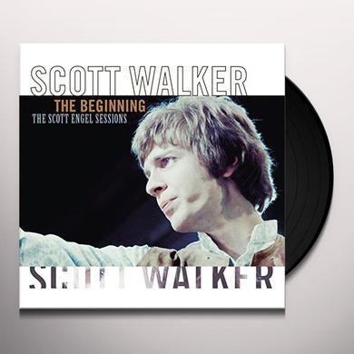 Scott Walker BEGINNING: SCOTT ENGEL SESSIONS Vinyl Record