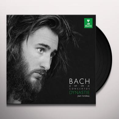 Bach / Jean Rondeau FIVE CONCERTOS FOR HARPSICHORD Vinyl Record