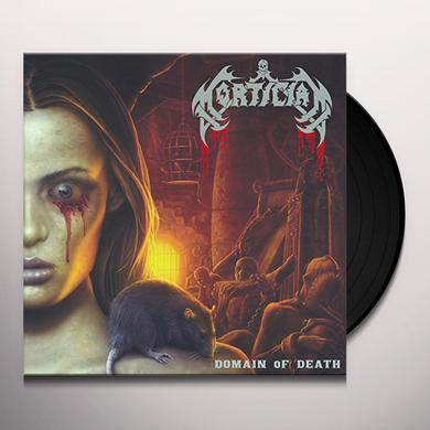 Mortician DOMAIN OF DEATH Vinyl Record