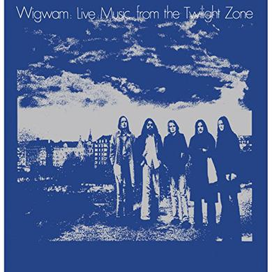 Wigwam LIVE MUSIC FROM THE TWILIGHT ZONE Vinyl Record