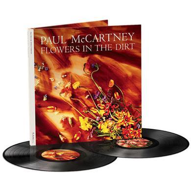 Paul Mccartney FLOWERS IN THE DIRT Vinyl Record