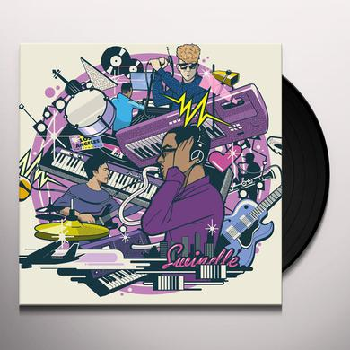 Swindle PURPLE WALLS Vinyl Record