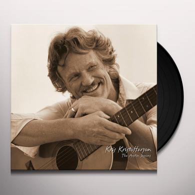 Kris Kristofferson AUSTIN SESSIONS Vinyl Record