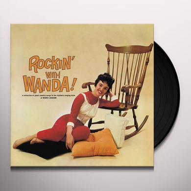 Wanda Jackson ROCKIN WITH WANDA Vinyl Record