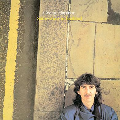 George Harrison SOMEWHERE IN ENGLAND Vinyl Record