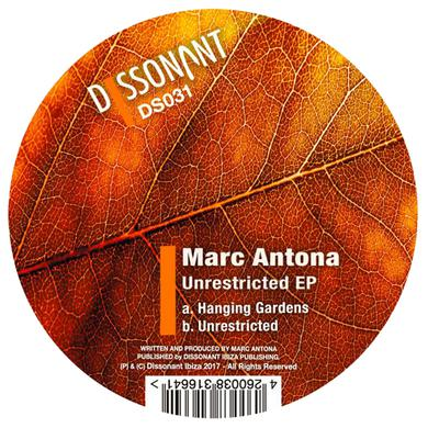 Marc Antona UNRESTRICTED Vinyl Record