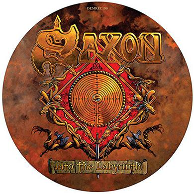 Saxon INTO THE LABYRINTH Vinyl Record